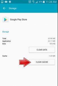 Google Play Store Error 492
