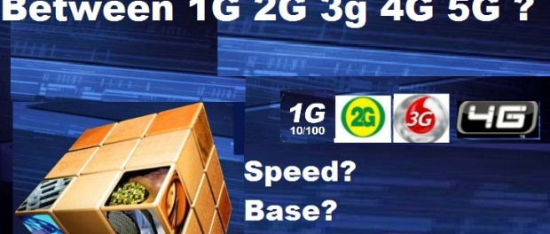 What are the differences between 1G, 2G, 3G, 4G and 5G?