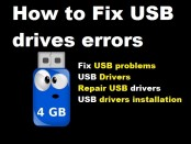 How to Fix USB drives errors
