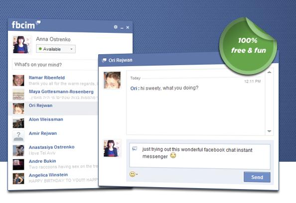 CHAT WITHOUT LOGGING FACEBOOK