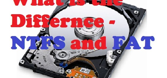 Difference Of NTFS and FAT File System