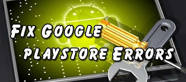 Google playstore Errors & Solutions on Lenovo