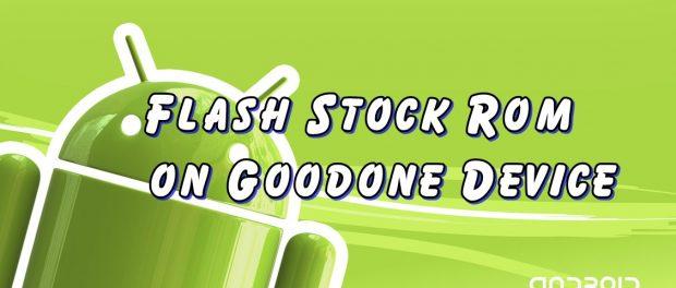 good one stock rom