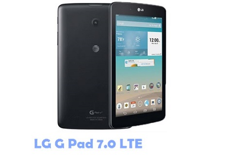 Sound Not Works on LG G Pad 7.0 LTE