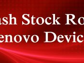 Flash Stock Rom Lenovo