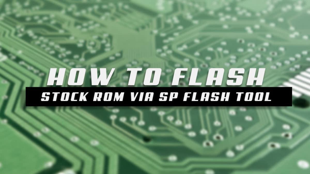 How to FlashStock Rom onDaxian G1188