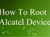 root Alcatel One Touch